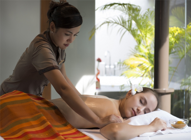 massage in de Layana Spa