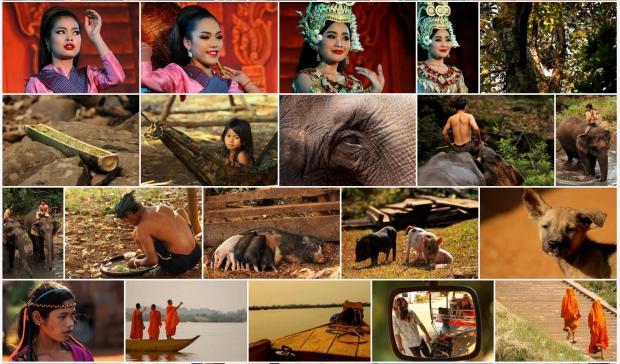 deel van de foto's collectie van Jannekes reis Cambodja en Hong Kong