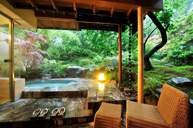Onsen in Ryokan - Japan