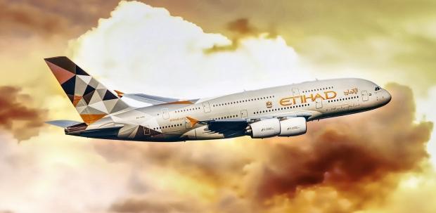 Etihad Airways - foto van Pixabay