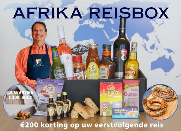 Culinaire reisbox Afrika