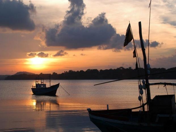 Vissersboten Negombo