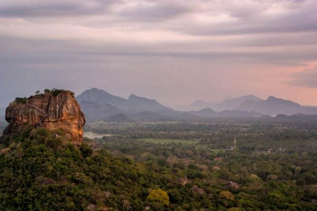 Uitzicht vanaf Pidurangala