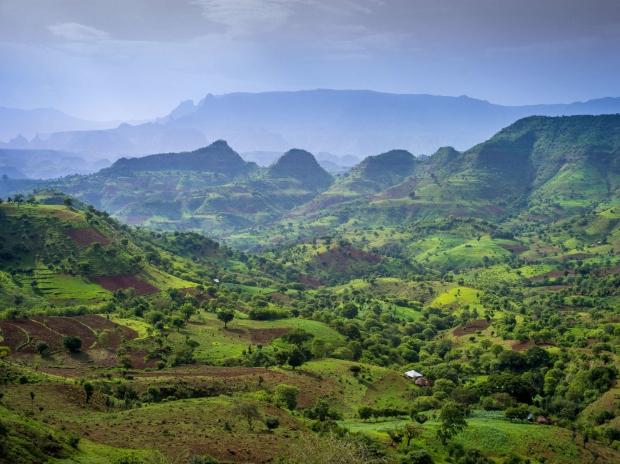 Landschap Ethiopië