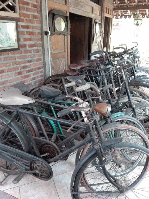 fietsen - Yogyakarta