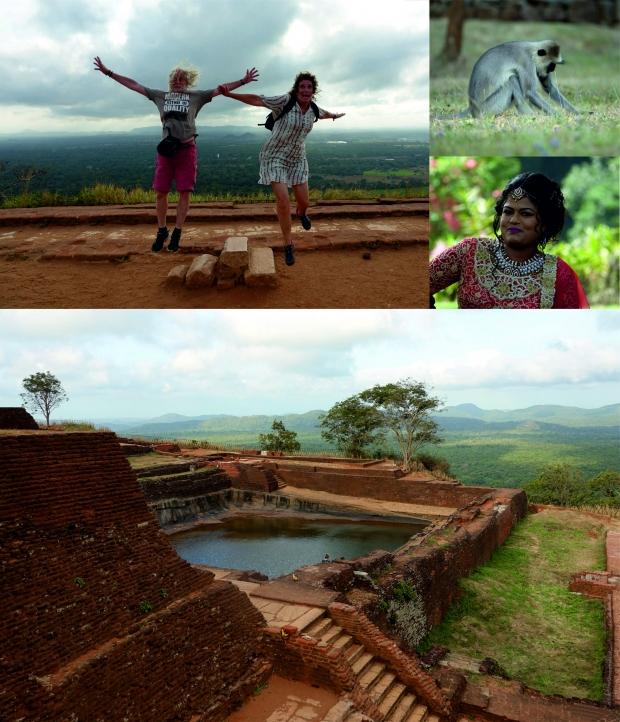 Marian en Harry in Sri Lanka