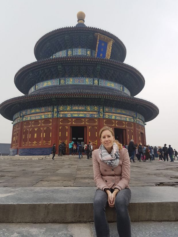 Rianne in China