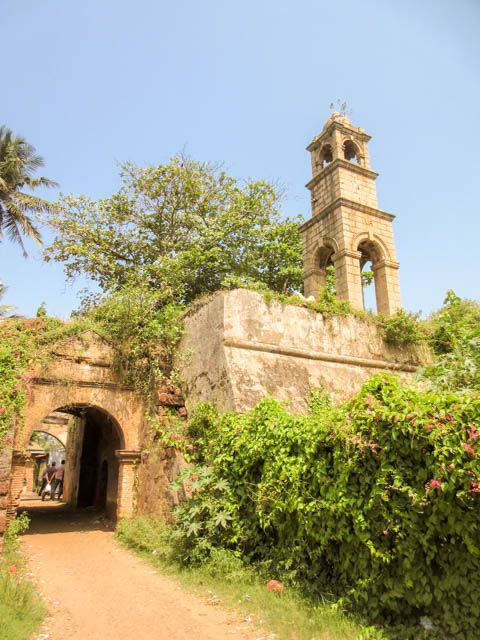 Oud fort in Negombo