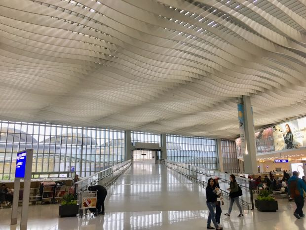 internationale luchthaven Chek Lap Kok van Hong Kong