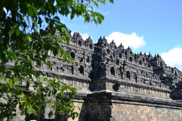 Borobudur Ground Level View