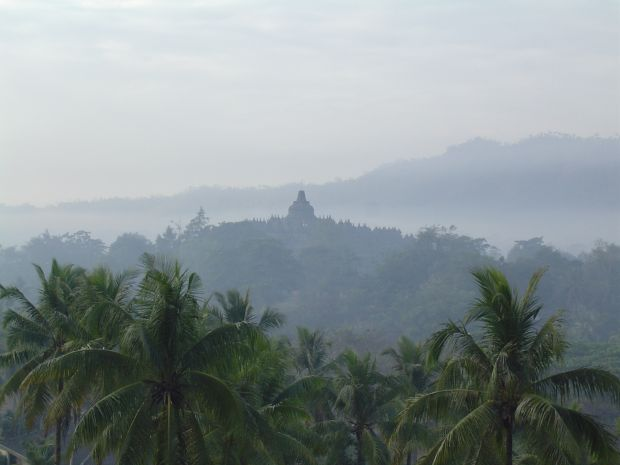 Borobudur from Dagi Hill