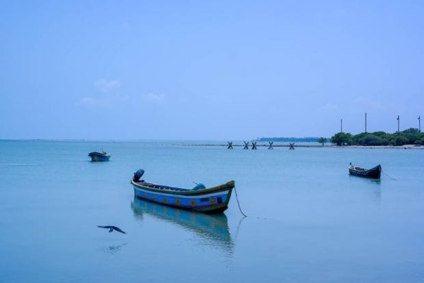 zee met bootjes Jaffna