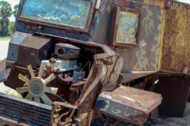 roestige tank-jeep
