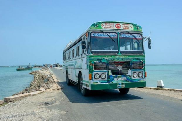 lokale bus Sri Lanka