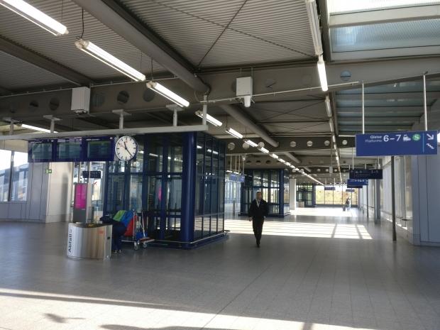 SkyTrain treinverbinding Dusseldorf Airport