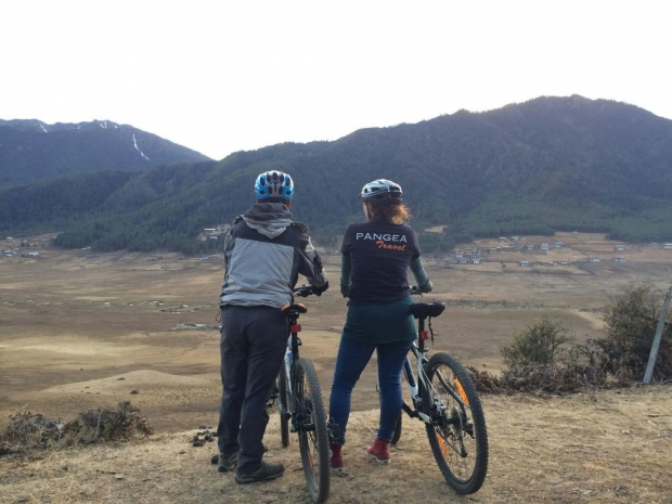 Mountainbiken in Bhutan