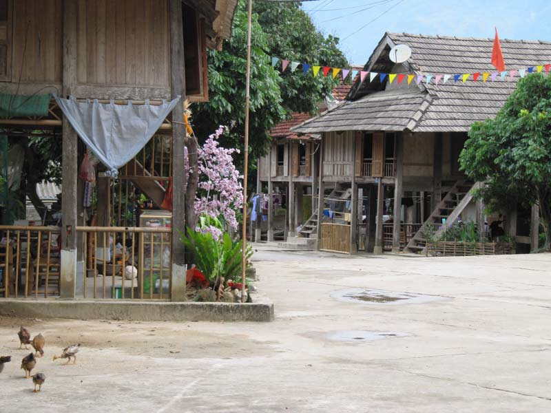 homestay in Mai Chau vallei