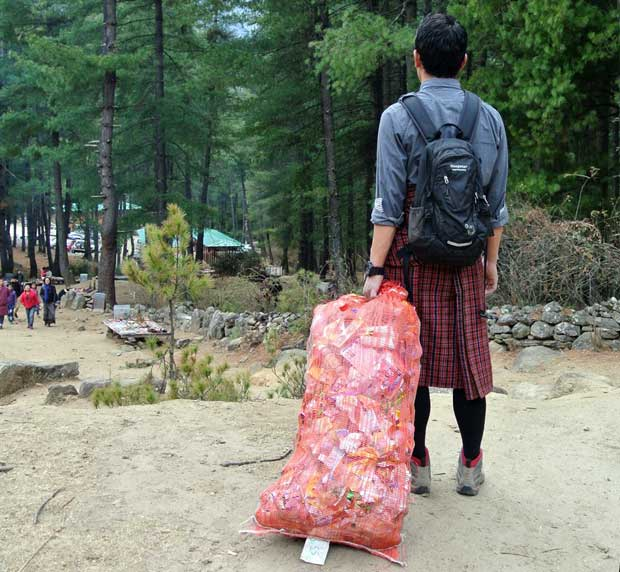 clean bhutan 2