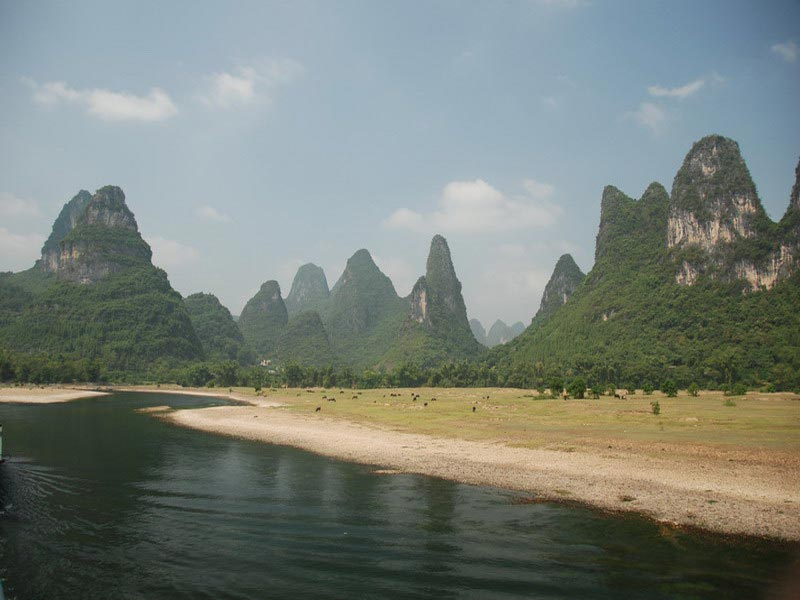 Karstgebergte Guilin Yangshuo China