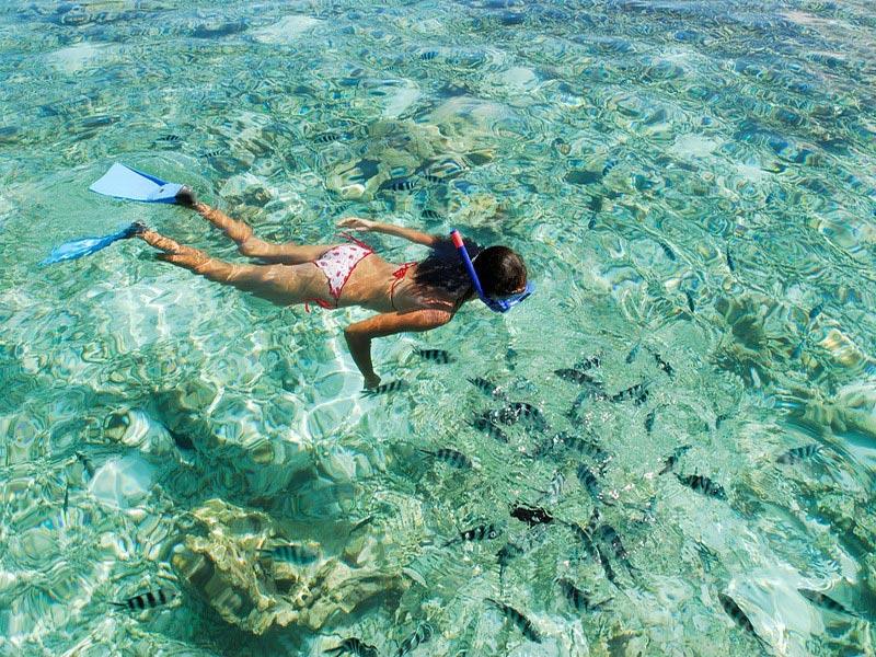 snorkelen op de Seychellen