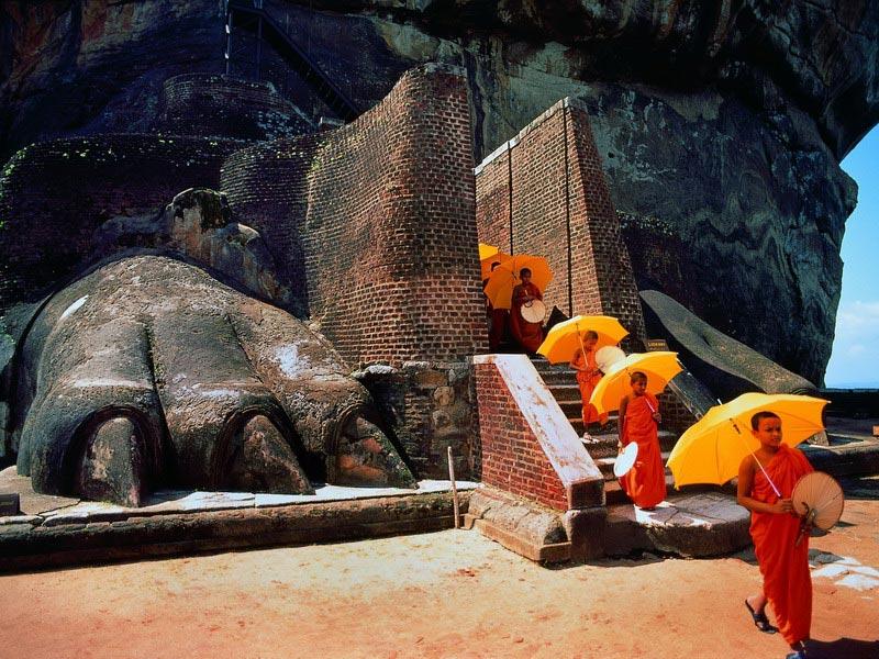 Lions Rock - Sri Lanka