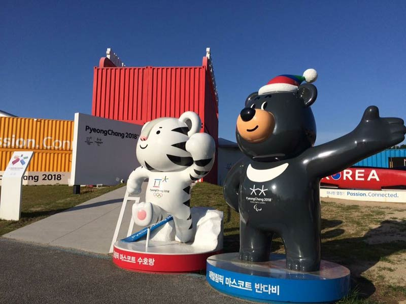 Bezoek Zuid-Korea tijdens de Olympische Winterspelen 2018