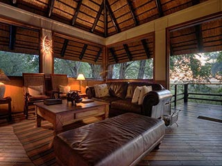 Moremi Game Reserve - lounge