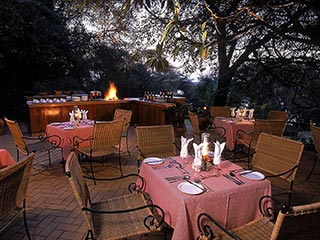 Chobe National Park - restaurant