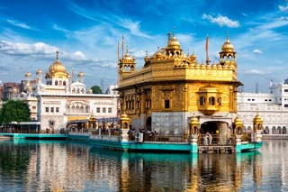 India - Sikh Gurdwara Golden Temple, Amritsar, Punjab - foto: Archief