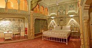 typische heritage slaapkamer