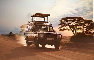 southern cross - rondreizen door Kenia in een 4wd