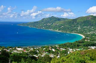 Mahé - Bay of Beau Vallon, Mahé - foto: Archief