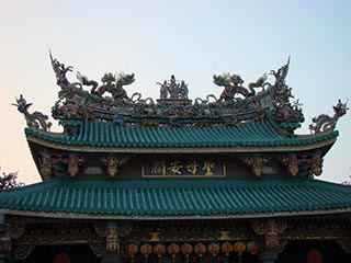 Tainan - Queen of Heaven Temple at Deer Ear Gate