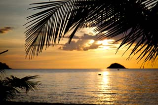 Thailand - Sunset in Koh Chang - foto: Archief