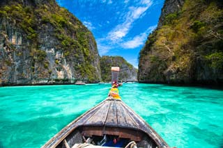 Thailand - The beach Koh Phi Phi - foto: Archief