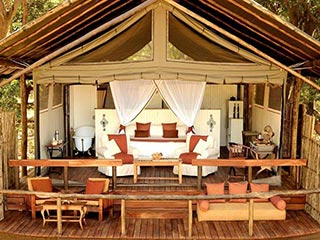 Lower Zambezi - Chaiwa Camp in Lower Zambezi - luxe reis Zambia