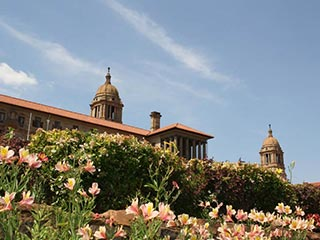 Pretoria - Union Buildings - foto: Martijn Visscher
