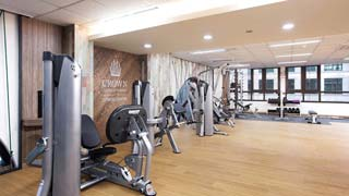 fitness ruimte - Crown Harbor Hotel Busan